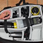 Kamerarucksack Amazonbasic groß