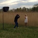 Making Of Bild vom Shooting
