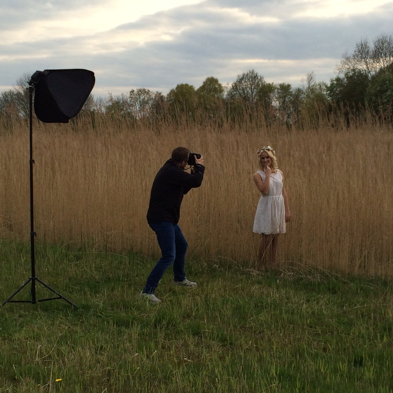Making Of Bild vom Shooting