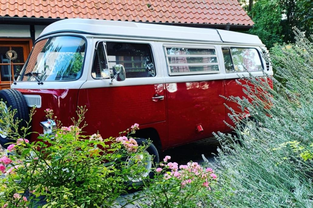 Die rote Bavaria, ein schönes Hochzeitsauto